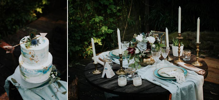 Décoration mariage boho tipi