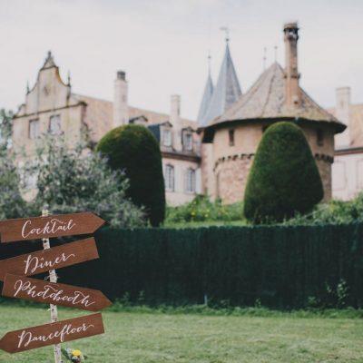 Mariage acidulé au château d'Osthoffen