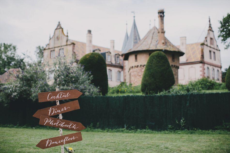 Mariage au château d'Osthoffen