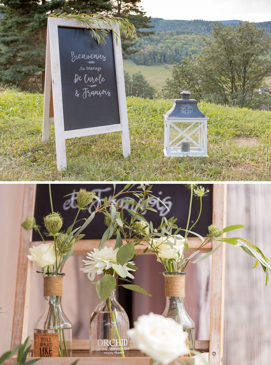 Mariage dans une bergerie dans les Vosges