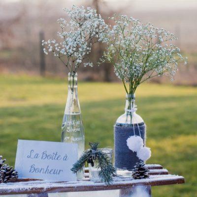 Mariage hivernal en Alsace
