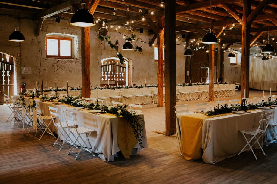 Mariage dans une grange au Morimont