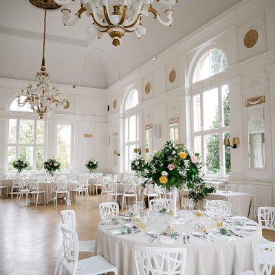Un mariage romantique et élégant à la Villa Sturm