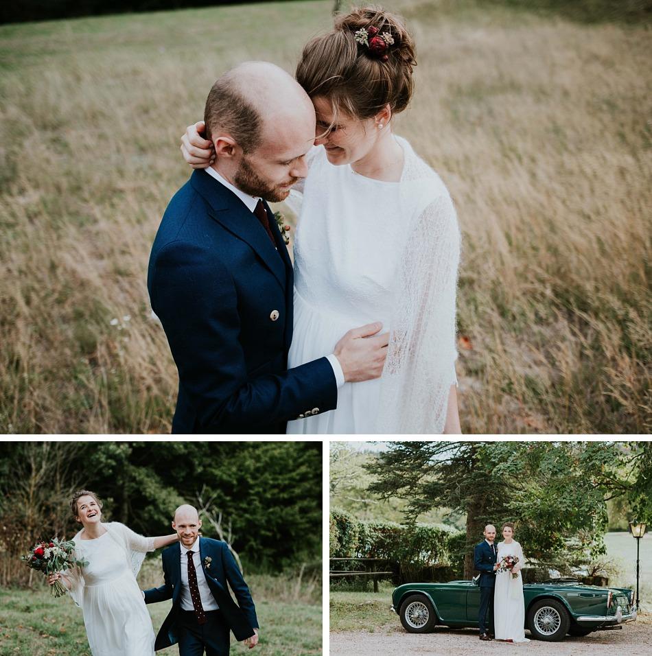 mariage automnal bleu et bordeaux gensbourg alsace