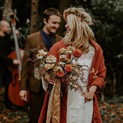 Un mariage folk et intimiste dans une maison de famille