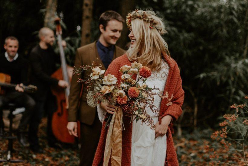 un mariage folk initimiste à Nantes