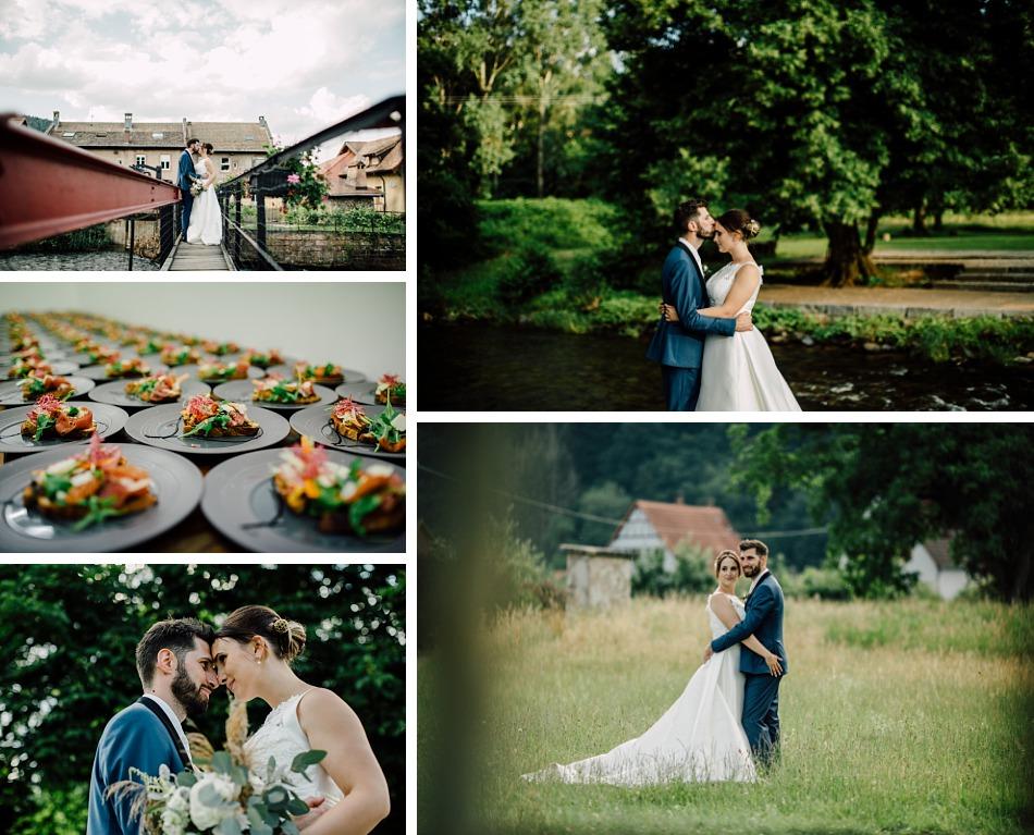 Un mariage kinfolk et industriel dans une scierie en Alsace
