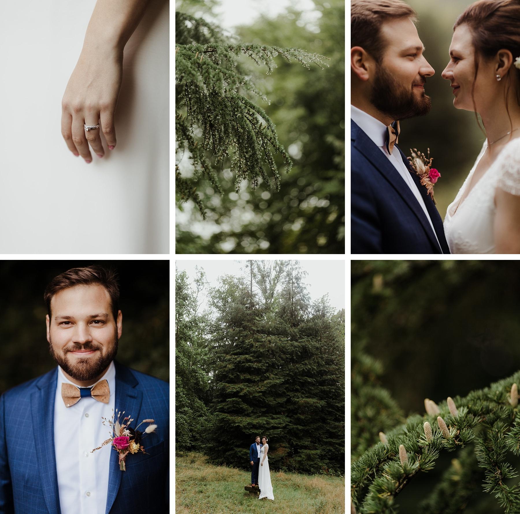 mariage brique au clos de Lorraine