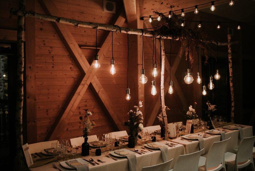mariage automnal eco-responsable domaine du hirtz salle