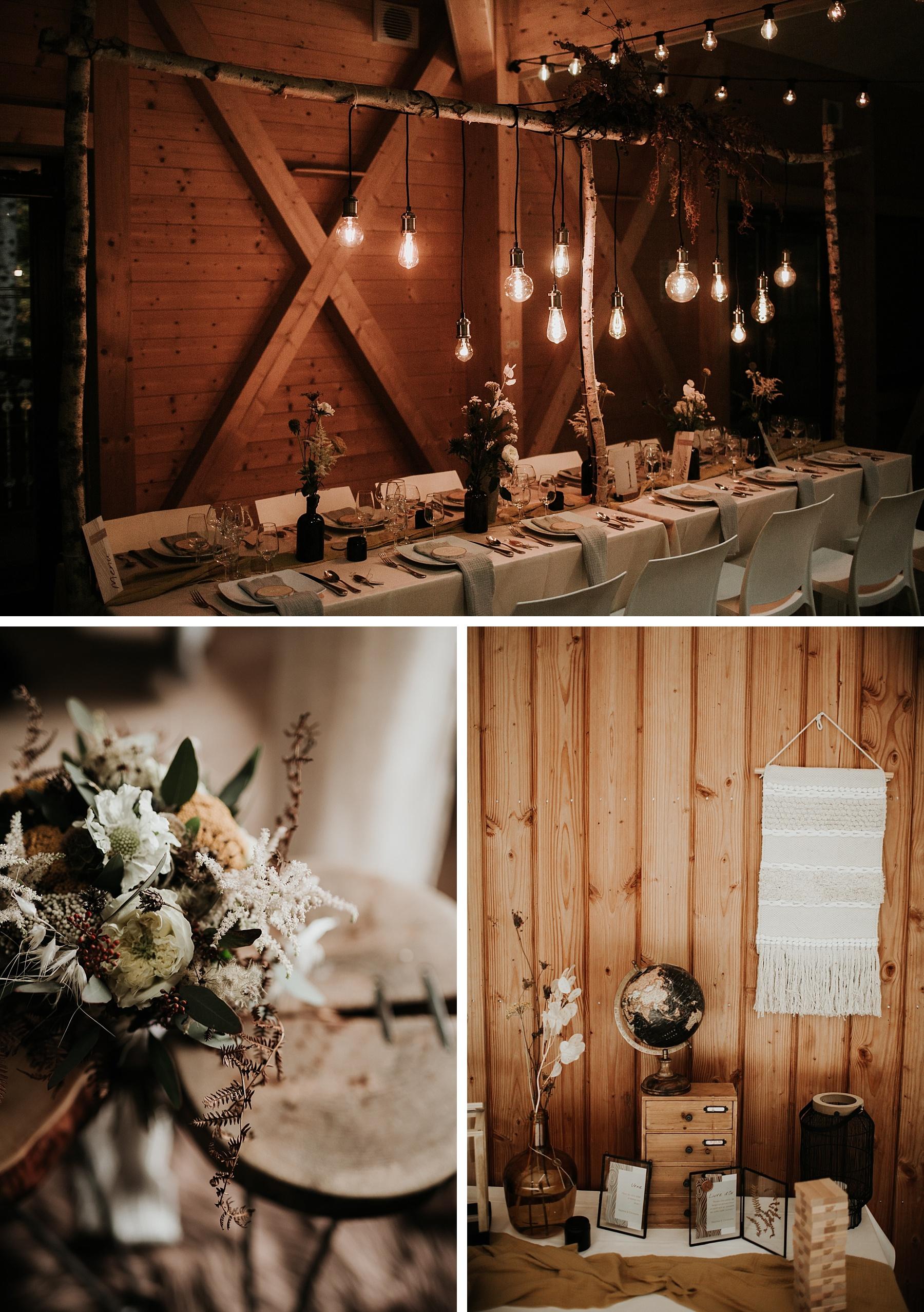 mariage automnal domaine du hirtz salle