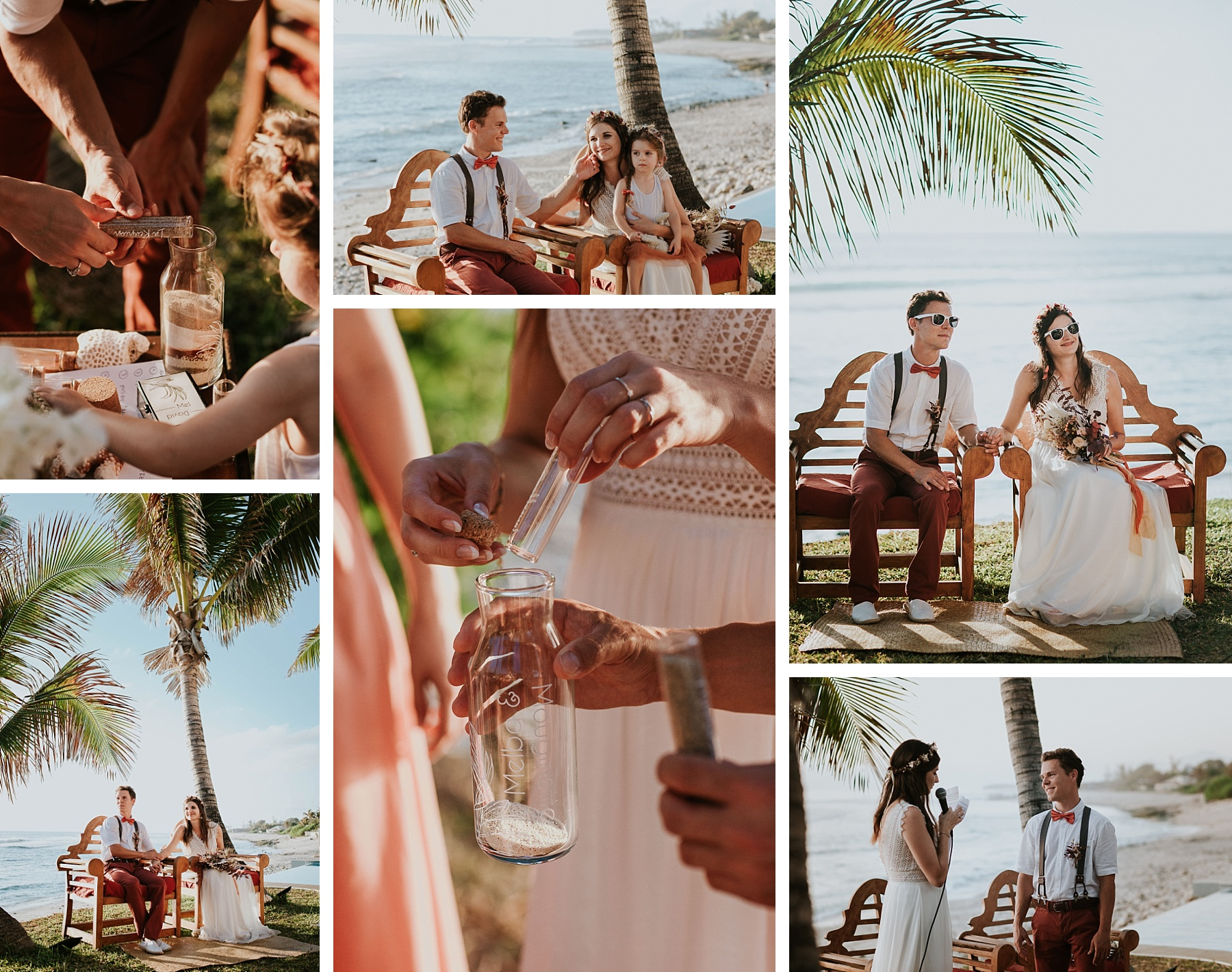 mariage plage la réunion cérémonie laïque