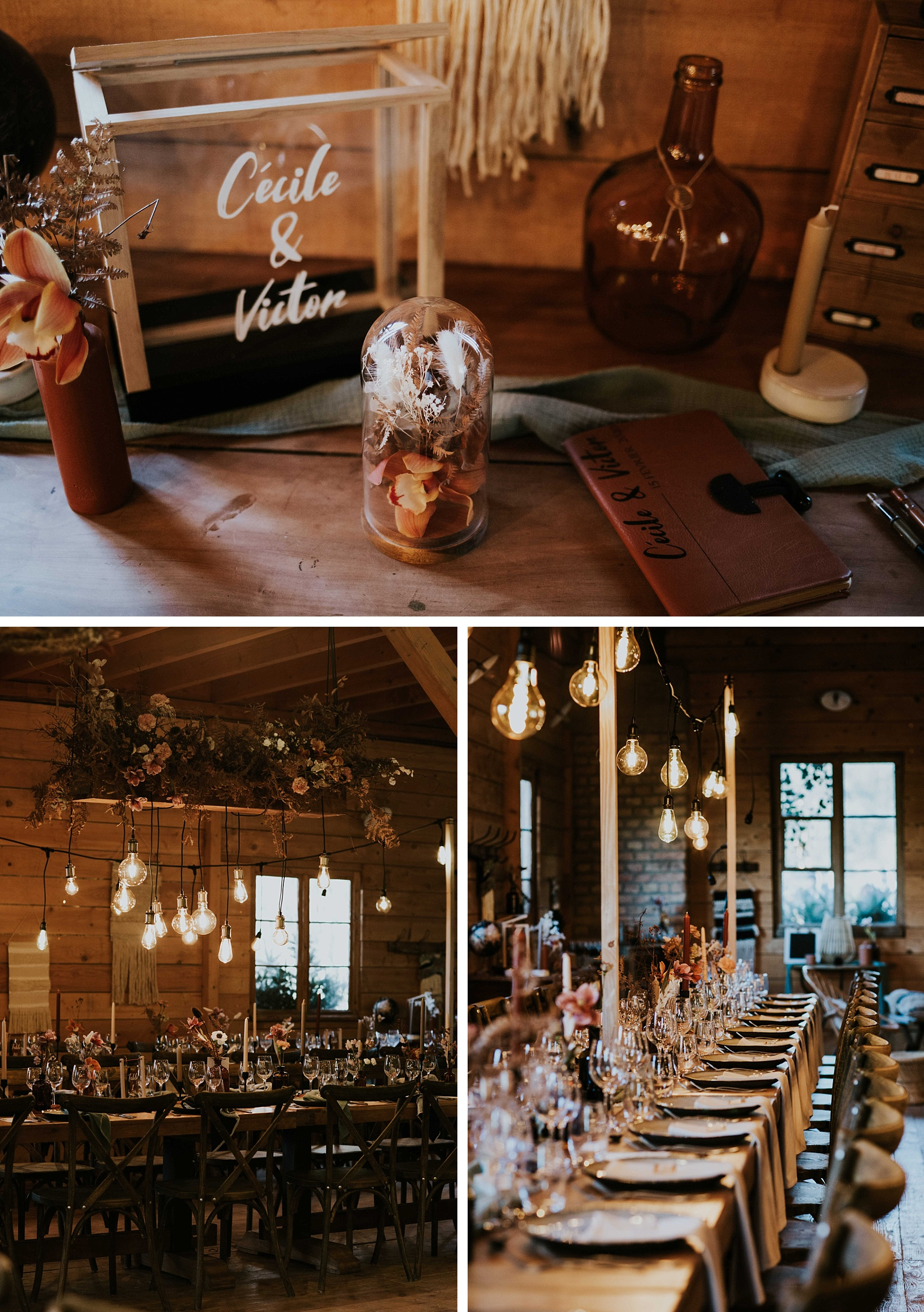 mariage hiver drille alsace urne