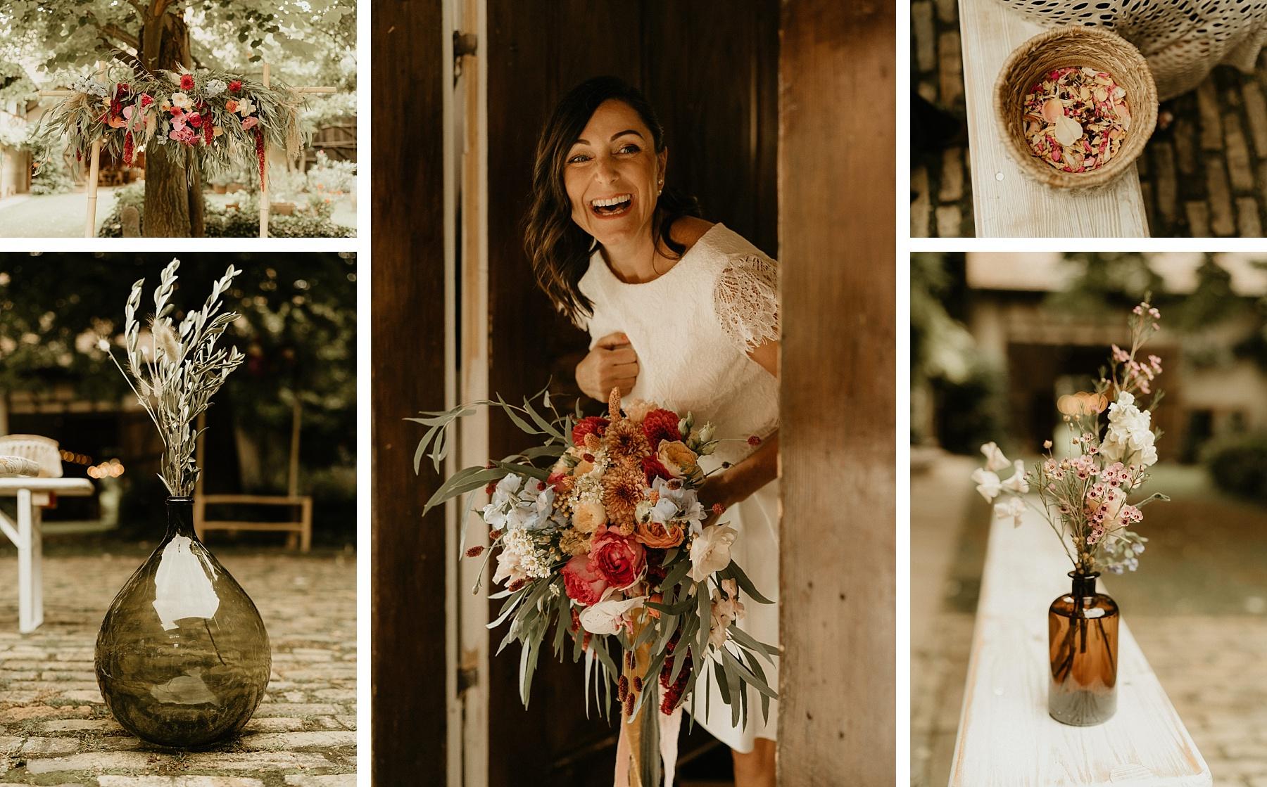 cérémonie laïque mariage coloré en Alsace