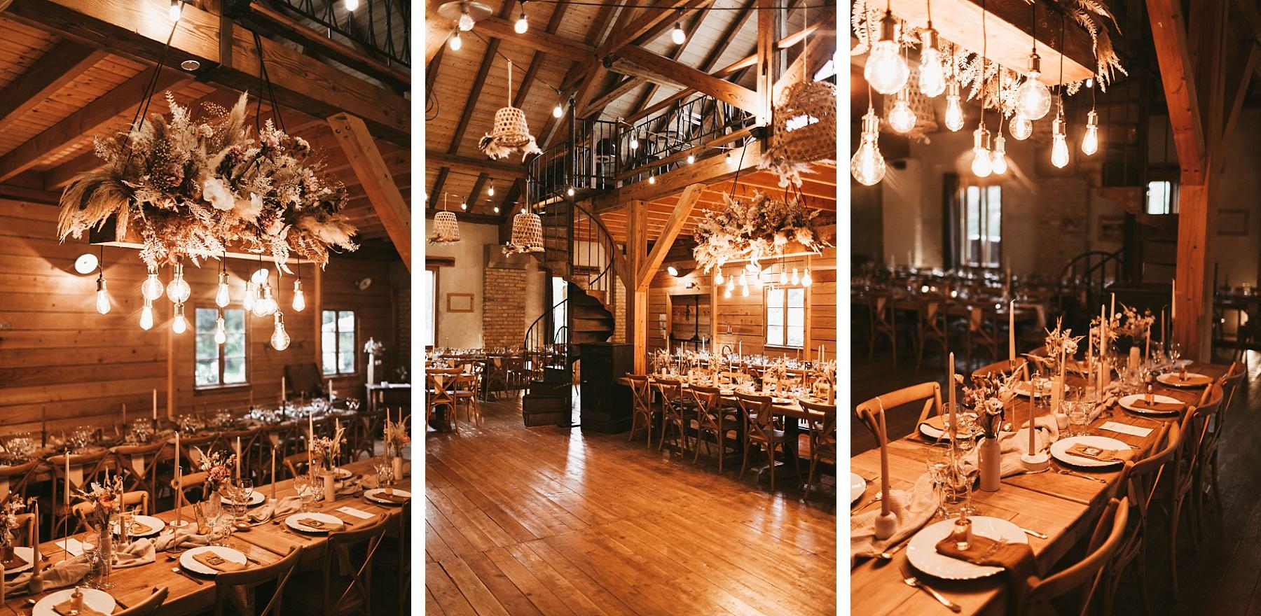 table d'honneur mariage ocre et or la drille